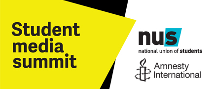 Amnesty International student media summit – August 2014