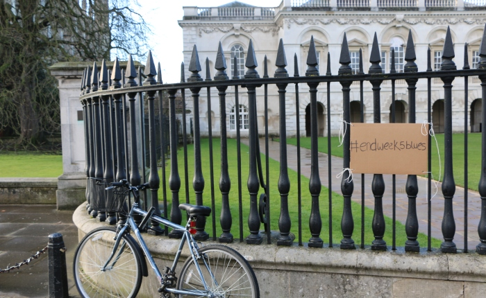 Photojournalism: #endweek5blues in Cambridge