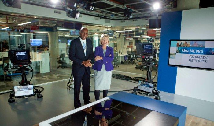 Work experience at ITV Granada – September2014
