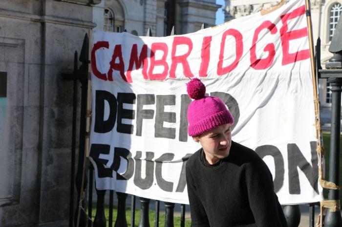 #endweek5blues rally inCambridge