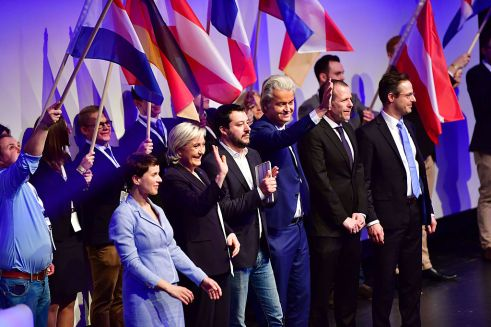 European Right-Wing Parties Hold Conference In Koblenz