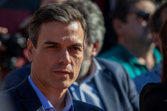 PSOE Closing Rally Ahead Of General Elections