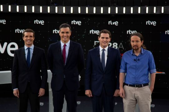 Spanish Candidates To Elections Attends 'El Debate'